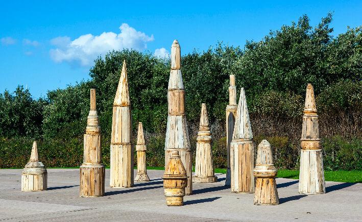 Guillaume GOUTAL - Site des tours - Bois assemblés, 5 m²