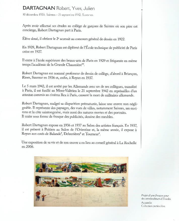 François WIEHN - Dictionnaire des peintres de Charente-Maritime - Gestes Editions - Bouguereau -  p1