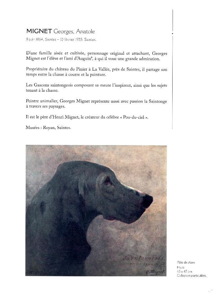 François WIEHN - Dictionnaire des peintres de Charente-Maritime - Gestes Editions - Mignet