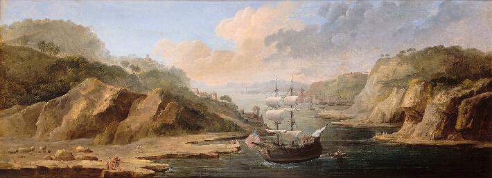 Le Départ de La Fayette pour les Etats-Unis en 1777 sur La Victoire