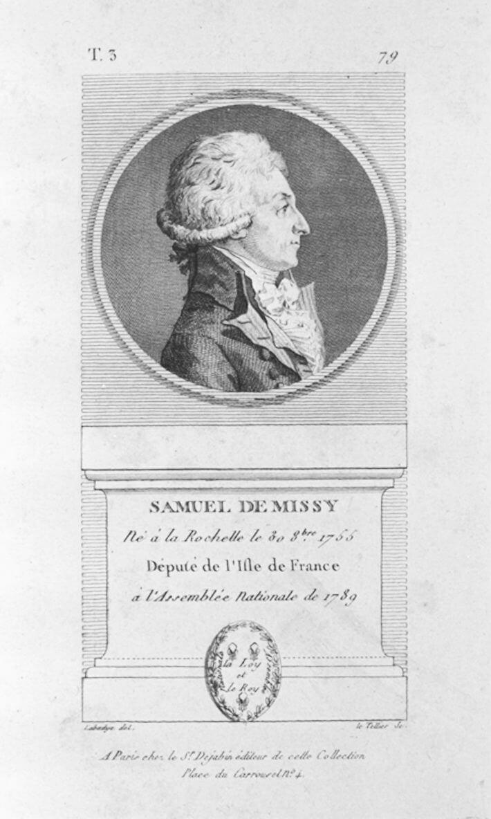 Portrait de Samuel de Missy.