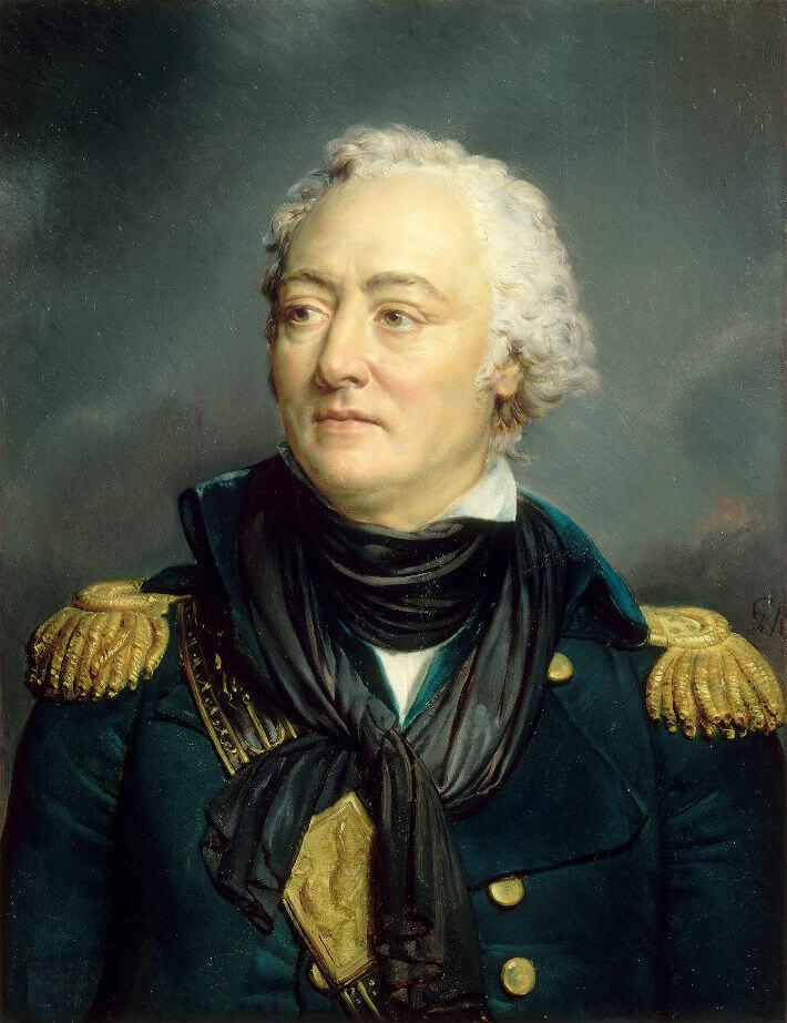 Louis René Madeleine Levassor de La Touche-Tréville, comte amiral en 1792 (1745-1804)
