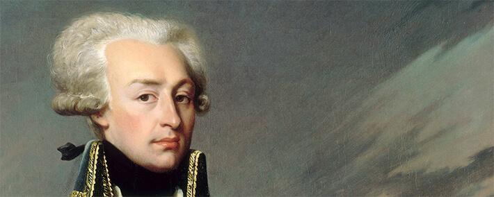 Gilbert Mottier, marquis de La Fayette (1757-1834) , représenté en 1792