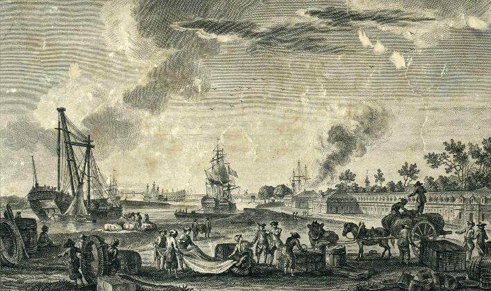 Vue du port de Rochefort - Vue 2