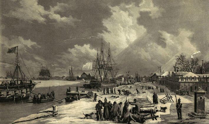 Vue du port de Rochefort - Vue 4