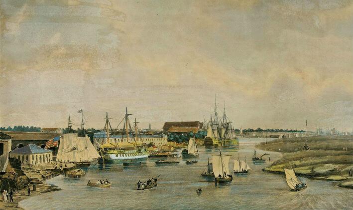 Vue du port de Rochefort - Vue 5