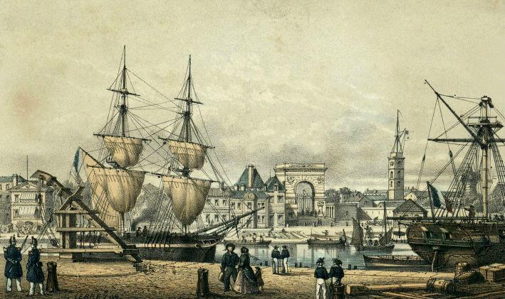 Vue du port de Rochefort - Vue 6