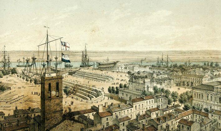 Vue du port de Rochefort - Vue 9