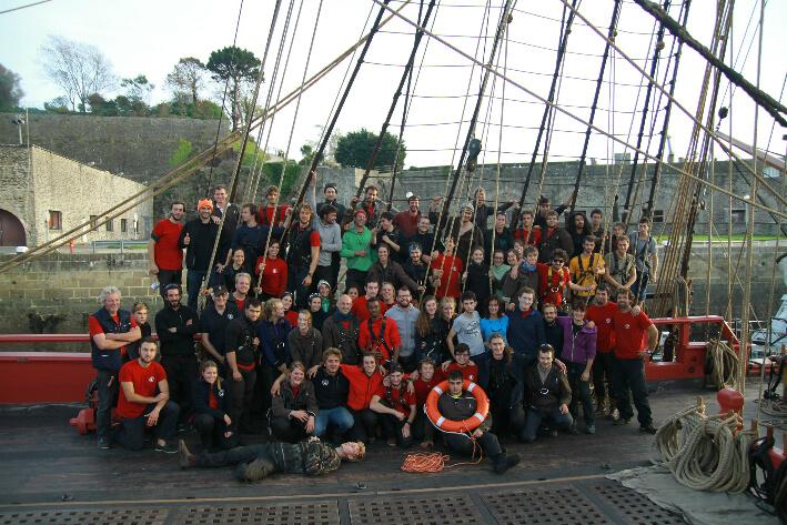 L'équipage de L'Hermione - 31/10/2014