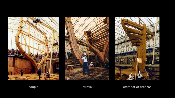 Eléments de structure de L'Hermione - 2000/2011