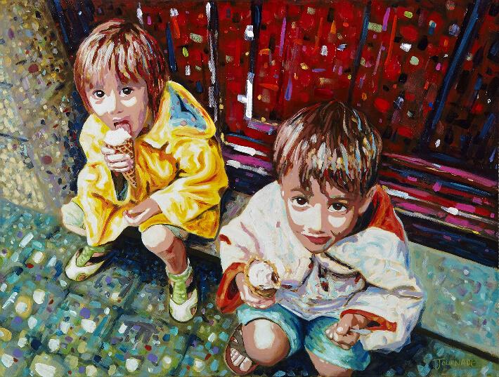 Guillaume JOURNADE - Les mangeurs de glaces