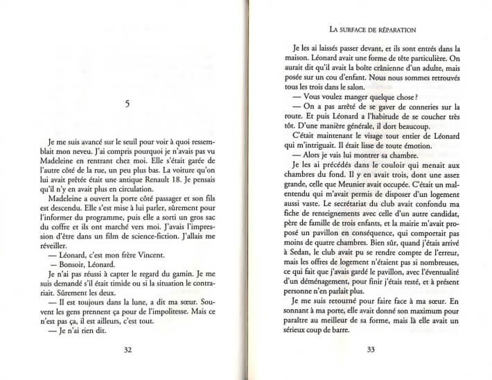 Alain Gillot - La surface de réparation - p32 et 33