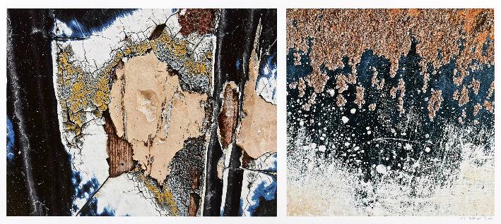 Patrick BOUJU - Hommage à l'Art brut - Tirage photo fine art sur papier Baryta 325g - Dyptique 100 x 50 cm