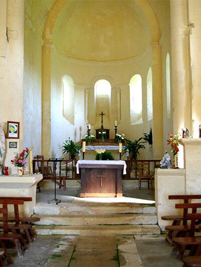 Autel - Église Saint-Martin de Taillant - 2014