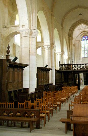 Stalles - Abbatiale Saint-Junien de Nouaillé-Maupertuis - 2013