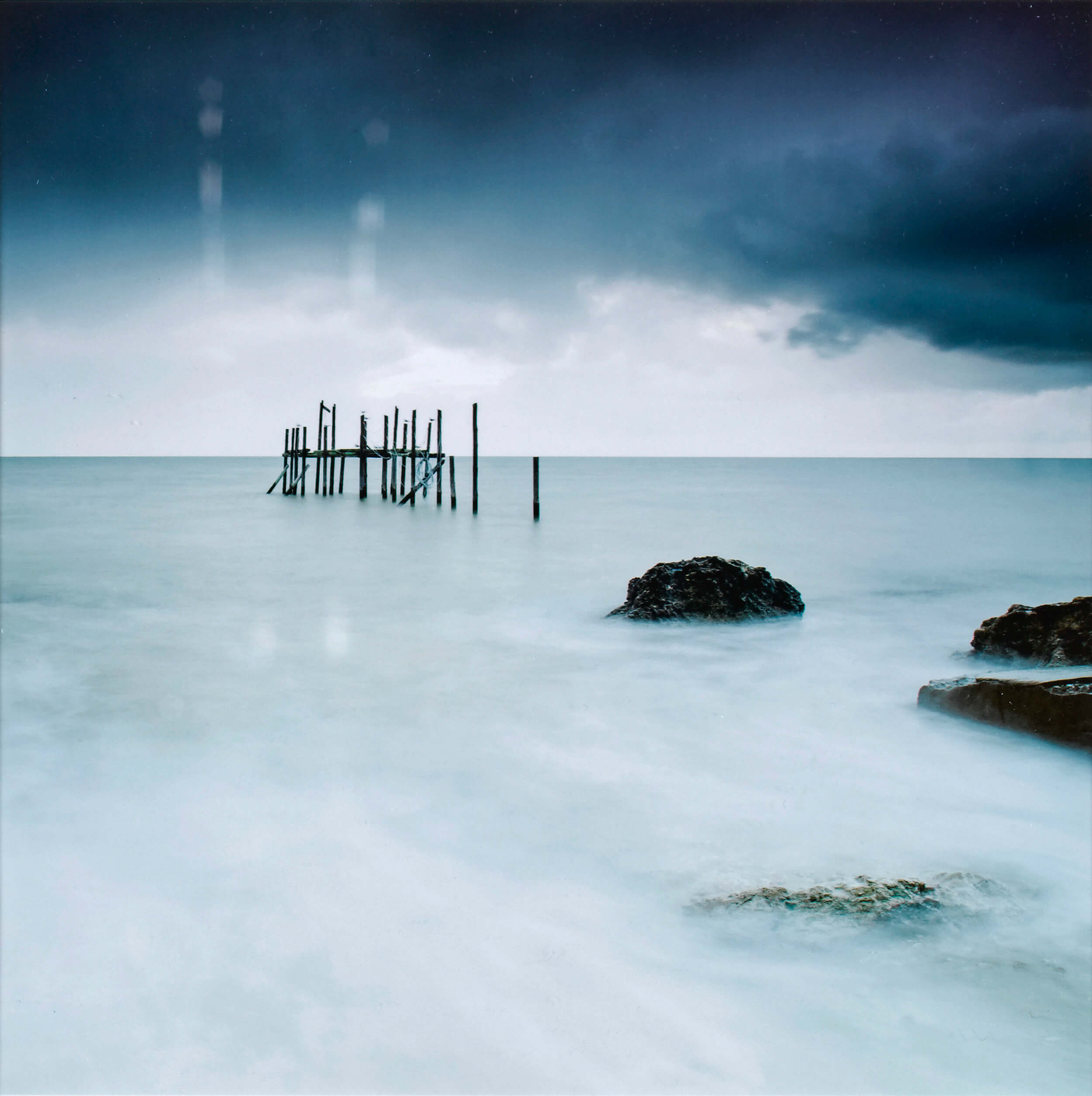 David BADENS - Icy World - Papier photo, 30 x 30cm