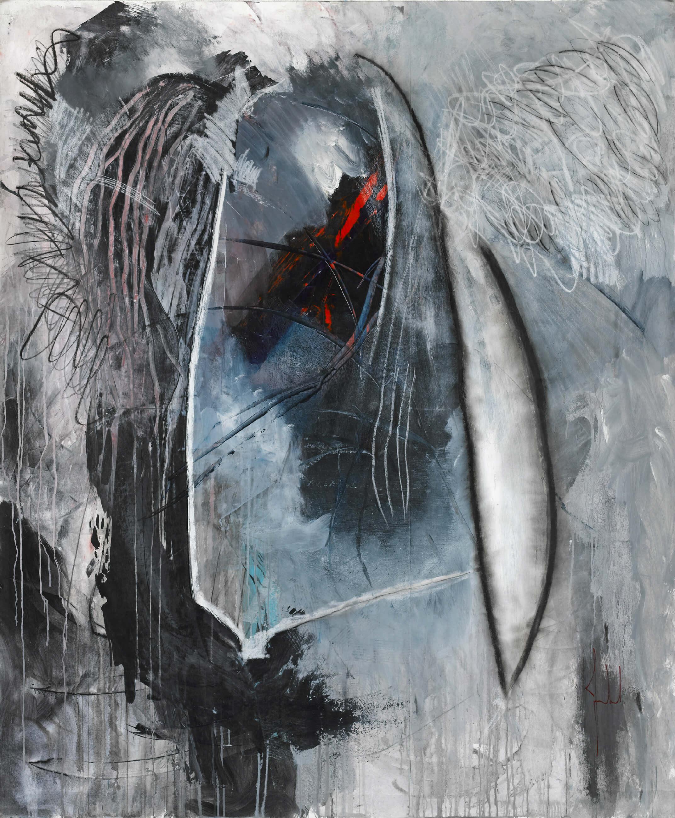 Mounto REINHARDT - Définition - Acrylique, 163 x 200 cm