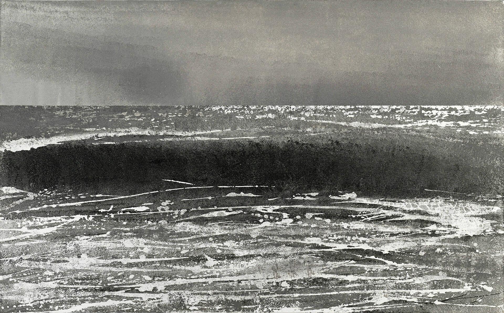 Nathalie LESAGE - L'Indicible - Acrylique - 80 x 130 cm